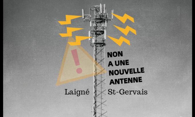 Non à l'implantation d'une nouvelle antenne relais Bouygues Télécom
