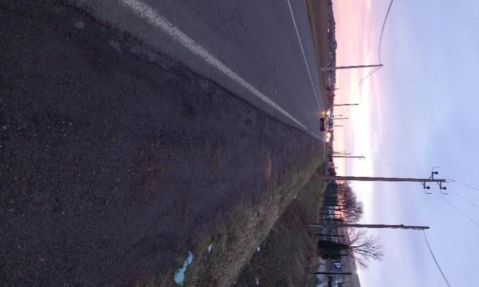 Déplacement arrêt bus ligne 36 et aménagement rond point de Stockomani à Pont du Château 63430 pour piétons car je suis mal-voyante