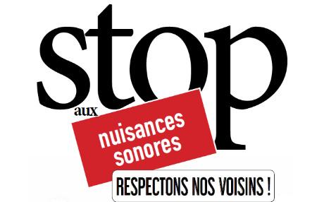 Stop aux troubles de voisinages ! Insécurité, atteinte à la tranquillité publique et sentiment d'impunité.