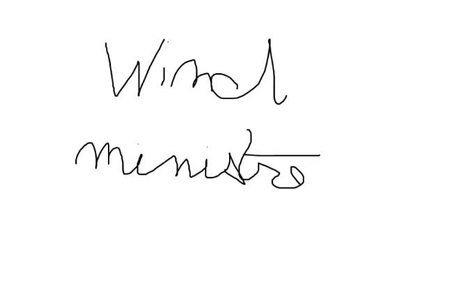 Wind ministre !