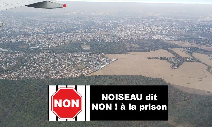 Pétition : Noiseau réaffirme son opposition au projet de prison de l'État