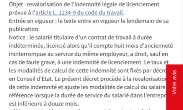L'abrogation des ordonnances de la loi Macron du 29 mars 2018 concernant le licenciement abusif