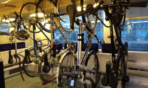 Pour le transport gratuit des vélos dans les trains en Belgique