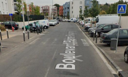 Aménagement du boulevard Pierre Bagarry, 13013 MARSEILLE