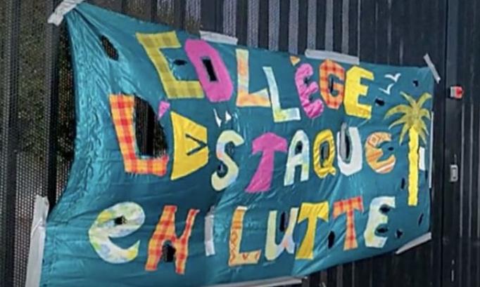 Demande de sécurisation du collège de l'Estaque par le recrutement d'assistants d'éducation de manière perenne