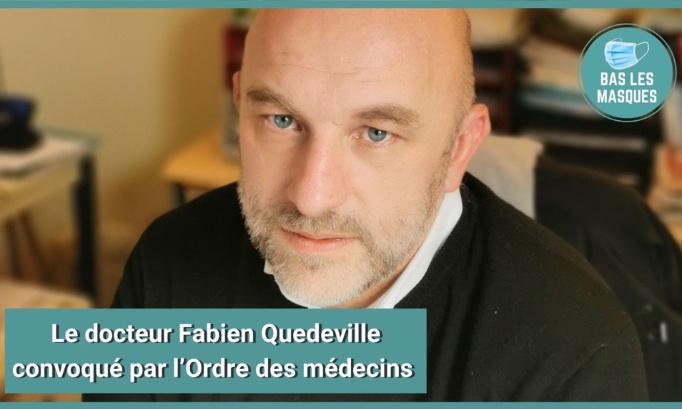 Soutenons le docteur Fabien Quedeville, convoqué sans motif par l'Ordre des Médecins