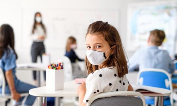 Plus de masque à l'école