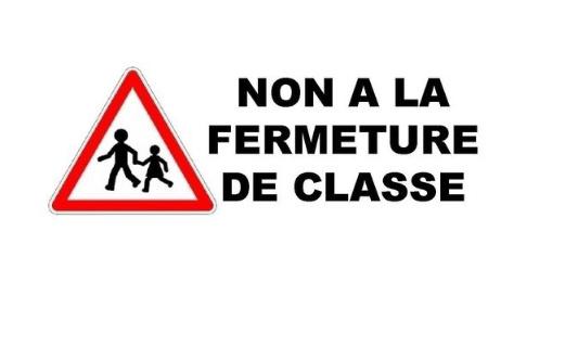 Non à la fermeture d'une classe de l'école élémentaire Monge Pasteur de Fleurance