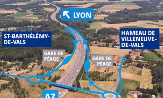 Pétition : NON aux demi-échangeurs de Villeneuve-de-Vals et St-Rambert-d'Albon