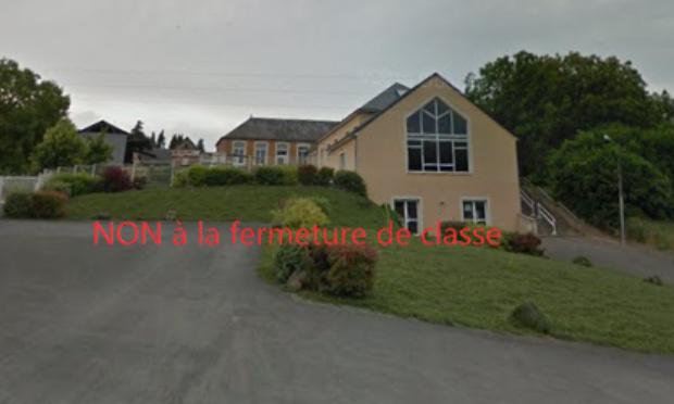 NON À LA FERMETURE DE CLASSE sur le RPI du Lorouër (Classe de Pruillé L'Eguillé)