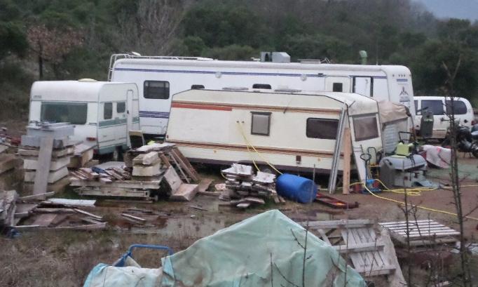 Non, au camping sauvage à Mas Canet