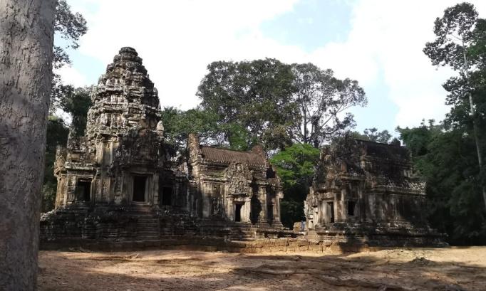 Non au parc d'attraction près des temples à Siem Reap au Cambodge par les chinois