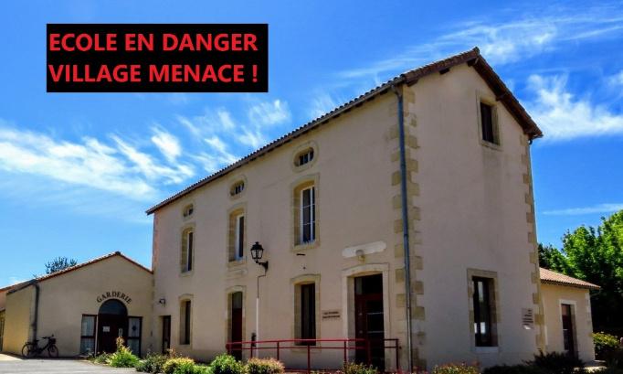 Pétition : Contre la fermeture d'une classe d'école à Marnay/Château-Larcher (86)