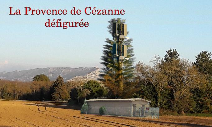Retrait Projet Antenne 5 G Chemin des lauves : Permis de Construire N° DP13N001 20JO944 du 15/02/2021