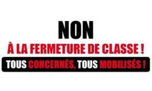 Pétition : Non à la fermeture d'une classe pour l'école du Luart