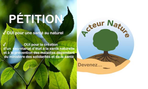 Pétition : Pour la création d'un Secrétariat d'Etat à la Santé Naturelle au sein du Ministère de la santé