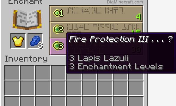 Le pire enchantement de Minecraft!