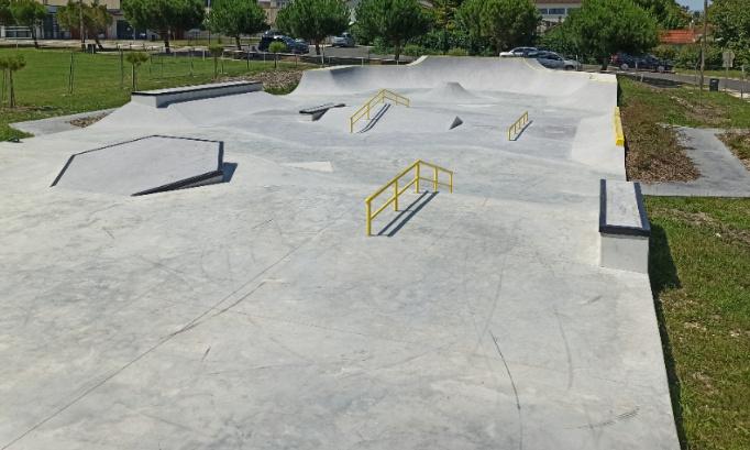 Création d'un skatepark à Château-Renault