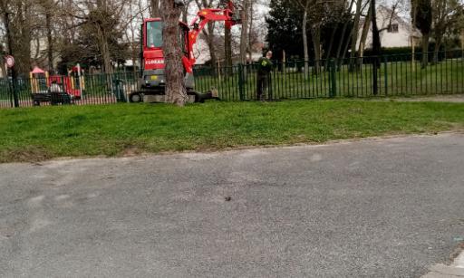 Square Gueriot Debussy création Eco Pâturage parc enfants