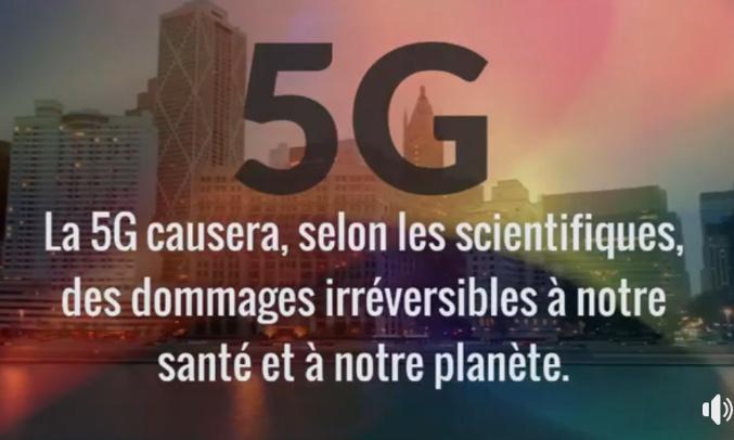 Pétition : Retrait  et Interdiction de la Technologie  5G en France et en Europe