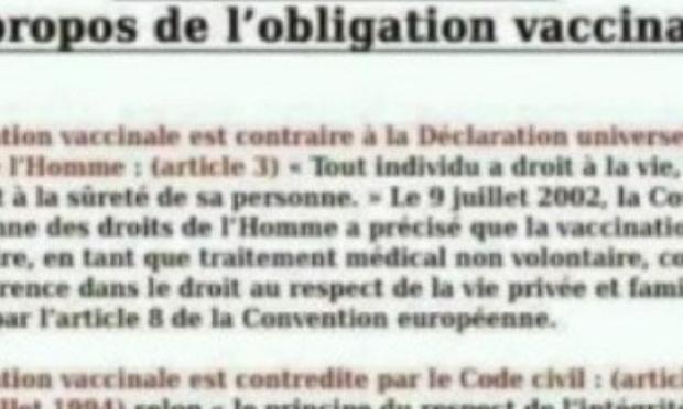 No vaccination.