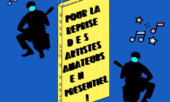POUR L'ACCUEIL INDIVIDUEL DES AMATEURS MAJEURS DANS LES ETABLISSEMENTS D'ENSEIGNEMENTS ARTISTIQUES