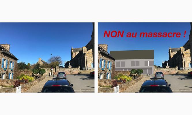 Pétition : Sauvons la place de Nantois à Pléneuf !   Pétition contre une construction inappropriée