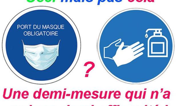 Rendre obligatoire la désinfection des mains dans les lieux publics