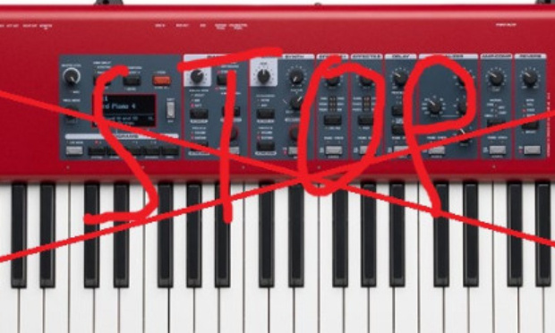 Pétition : Je souhaite l'arret total d'un quelconque son venant de ce magnifique nord piano 4