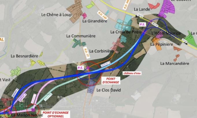 Retrait du projet de contournement de St Gilles pour un aménagement de l'existant.