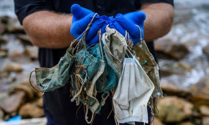 Pour la collecte de masques à usage unique à Nice et leur recyclage