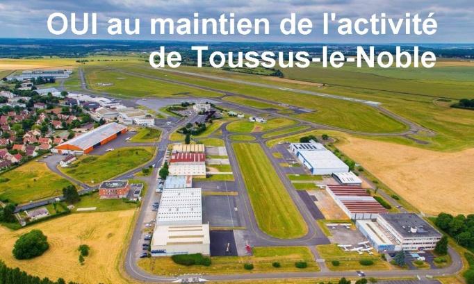 Pour l'avenir de l'aérodrome de Toussus-le-Noble