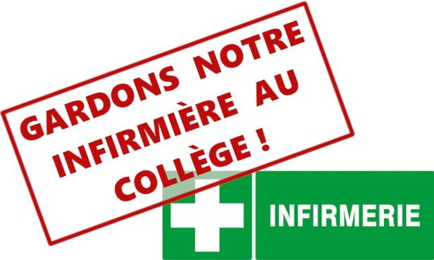 NON au redéploiement de nos infirmières scolaires !