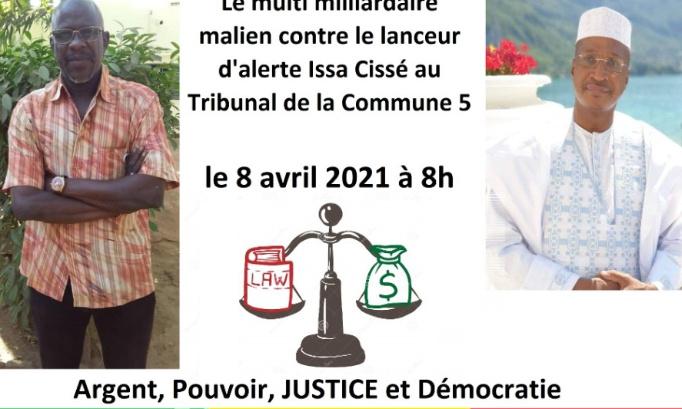 Pétition : LIBERER MR CISSE ISSA, activiste politique du M5 Mali