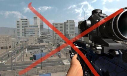 STOP Au sniper qui te met à terre alors que tu as tes trois plaques
