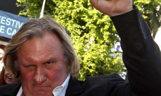 """Je souhaite qu'il y ait de nouvelles saison de """"À pleines dents"""" avec Gérard Depardieu."""