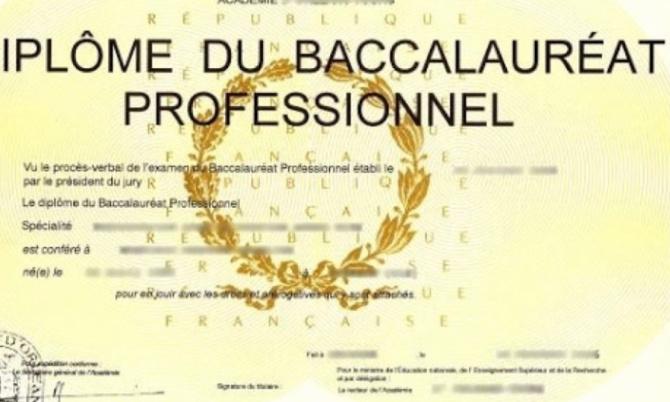Baccalauréat professionnel 2021