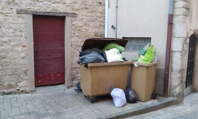 Le 24 Ancienne Grande Rue à Anse range ses poubelles dans son local poubelle