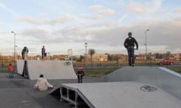 Agrandissement skatepark de Wattrelos