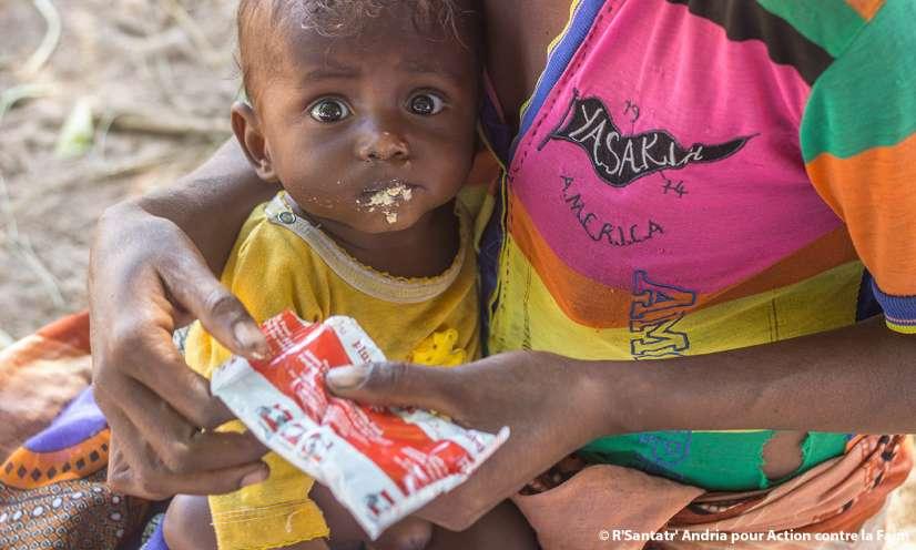 SAUVONS LA VIE DE MILLIERS D'ENFANTS TOUCHÉS PAR LA FAMINE À MADAGASCAR