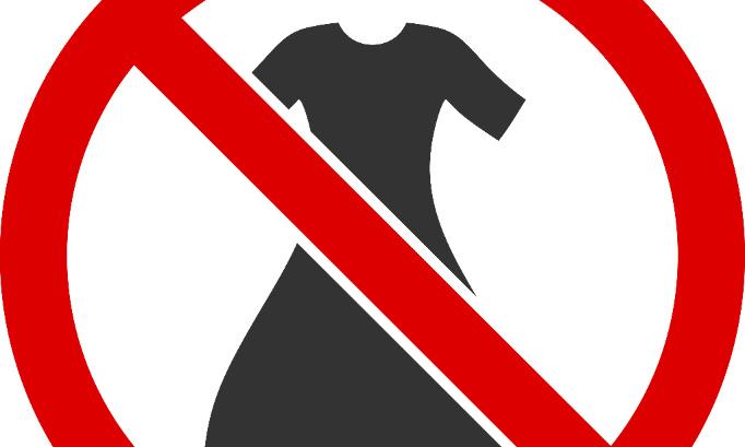 Enlever le règlement vestimentaire dans le R.O.I