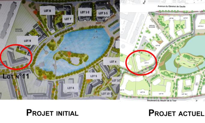 Contestation du permis de construire du lot n°11 de la Zac du Panorama à Clamart