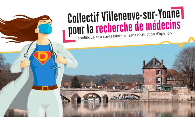 Pétition : Villeneuve-sur-Yonne recherche médecins !