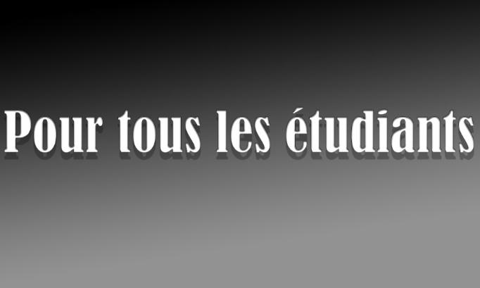 Le contrôle continu pour les étudiants de France
