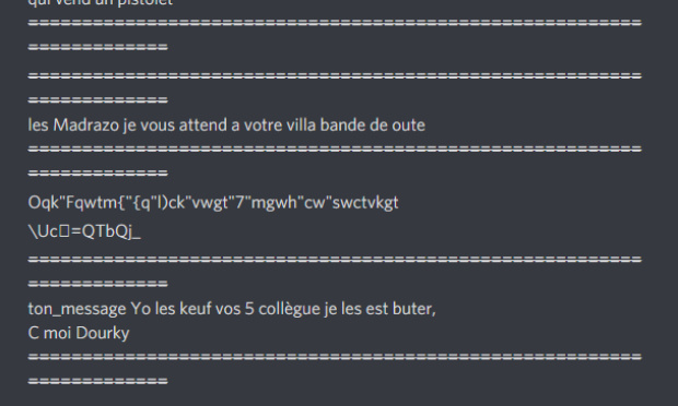 Enlever le BOT anonyme