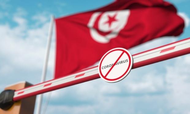 Protestation contre la fermeture des frontières tunisienne avec la France