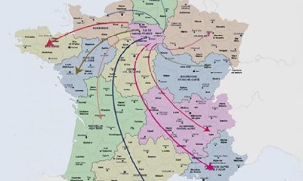 Contre la répartition des migrants d' Ile de France dans nos régions.