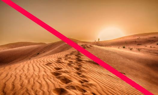 Pour l'interdiction des fonds d'écrans désertiques sur Trello