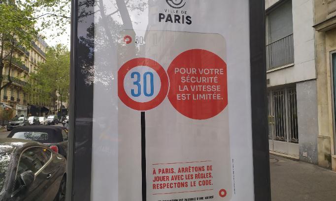 NON AUX 30 KM/H PARTOUT DANS PARIS !