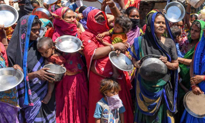 Petition for famine in India